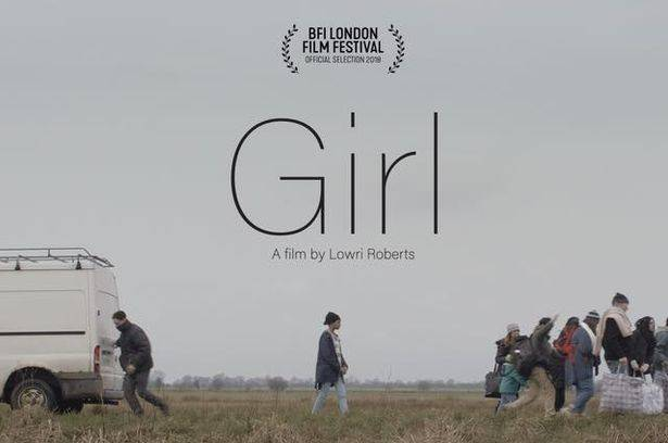 Film poster for GIRL, a graduate film by Lowri Roberts